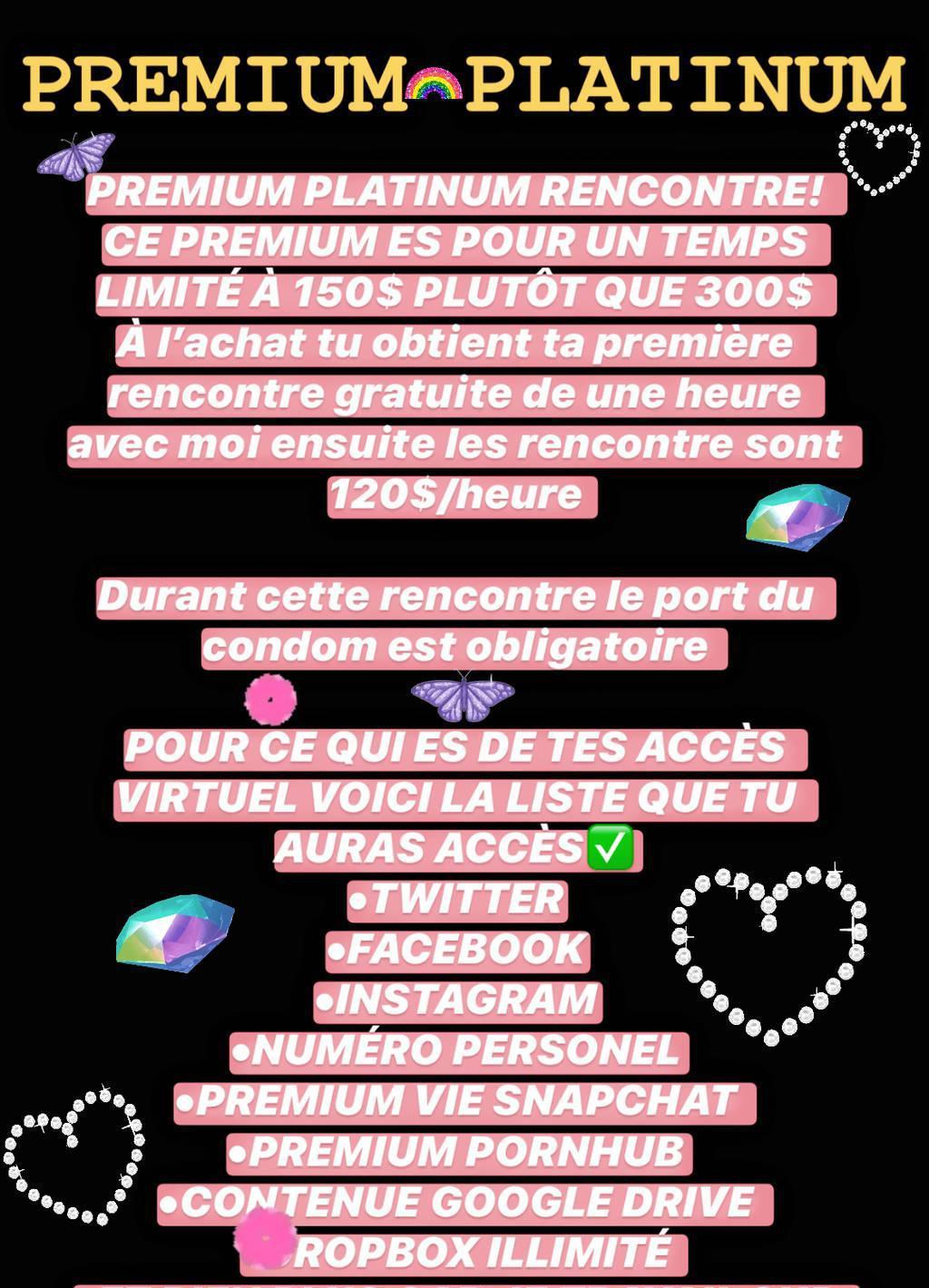 EvaLee Prémium Snapchat 60$ A Vie! Ajoute : evalee_cham202