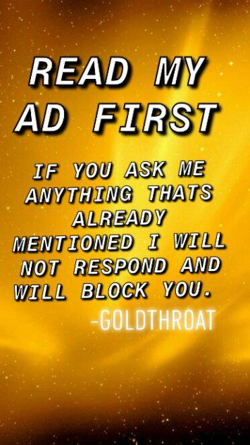 GoldThroat The Best Throat is Here but not For Long 1DAY