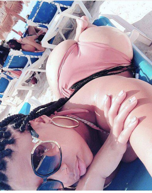 Thick Dominican an black redbone squirt queen