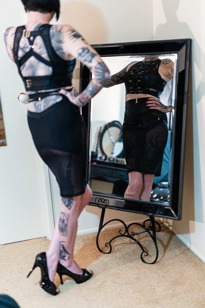 Gothic Goddess - Aussie MILF - Inked and pierced