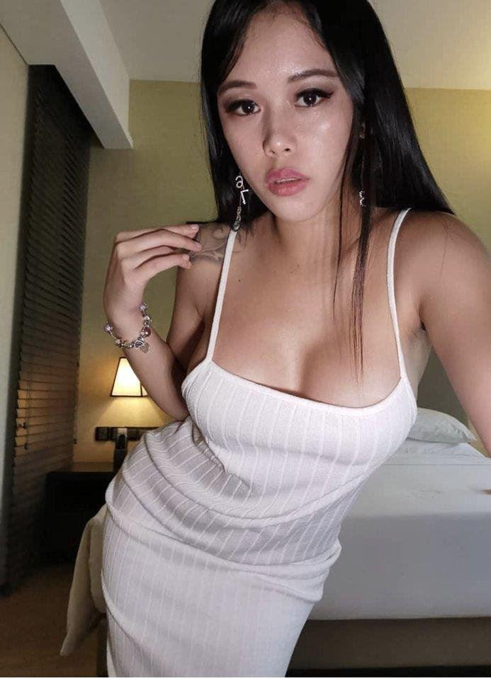 Sexy girl with natural D cup breast new in town
