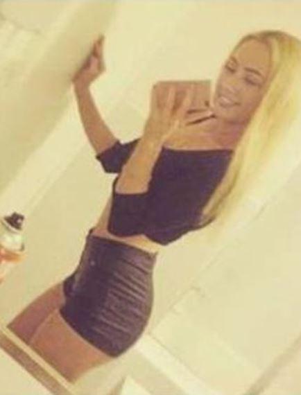 Alayna stunning Russian model 18 blonde