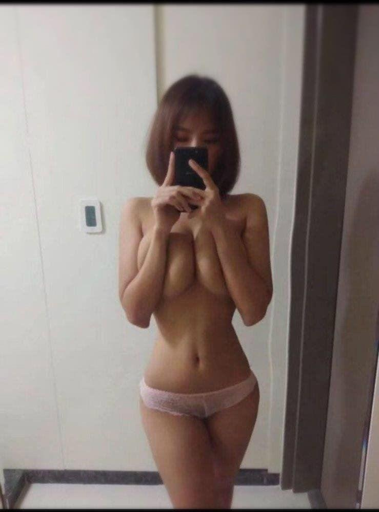 Pretty Asian girlfriend Naughty Playful