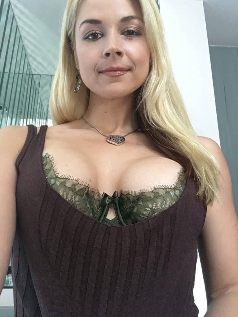 Gigantic fake tits