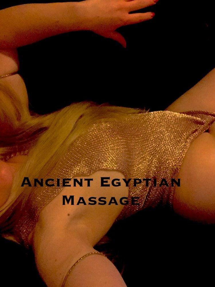 90min $200 Out of this world Ancient Egyptian Erotic Massage